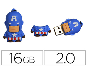 MEMORIA USB TECHONETECH FLASH DRIVE 16 GB 2.0 SUPER A