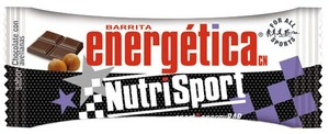 Barrita energética de chocolate