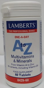 A Z MULTIVITAMINAS 60COMP