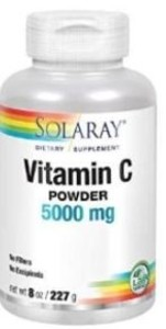 VITAMINA C POLVO NO ACIDA 5000MG