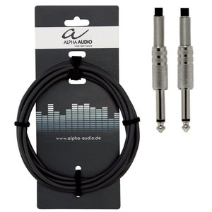 ALPHA AUDIO INSTRUMENT CABLE JACK/JACK 9 MTS
