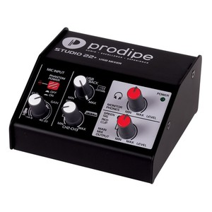 PRODIPE STUDIO 22 PLUS INTERFACE AUDIO HOME STUDIO