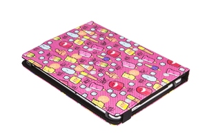"FUNDA UNIVERSAL PARA TABLET 9 A 10.1"" ESTAMPADA COOL ICE POP ROJA"