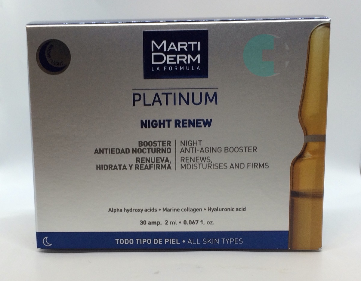 MartiDerm Platinum Night Renew