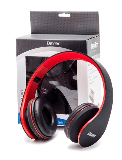 Cascos Bluetooth plegables Dexler