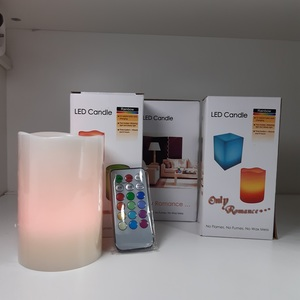 PACK VELAS LED