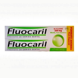 Fluocaril pasta dental bi-fluor 2X125 mL