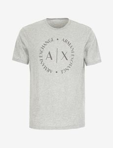 CAMISETA M/C GRIS ARMANI EXCHANGE