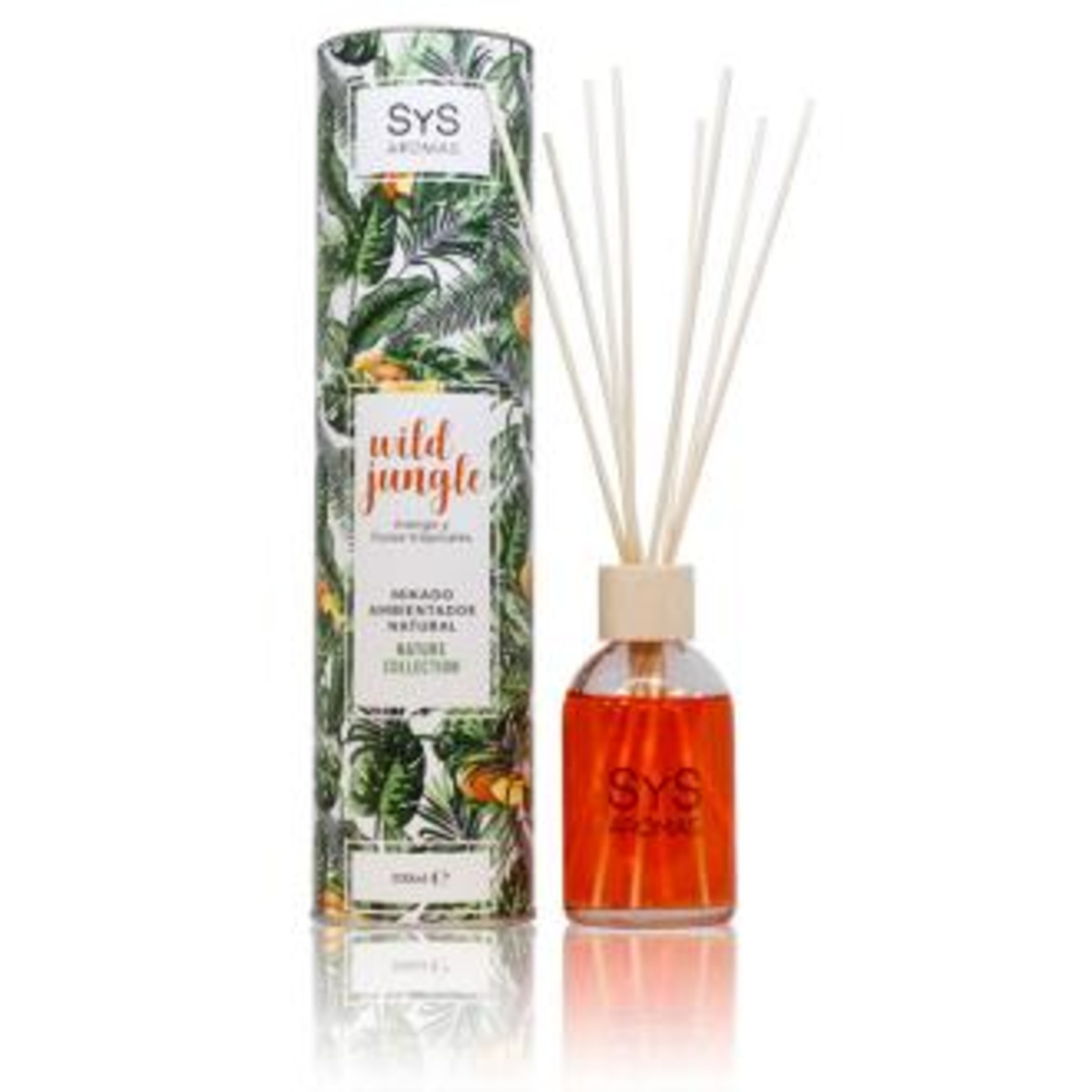 AMBIENTADOR MIKADO NATURE wild jungle 100ml.