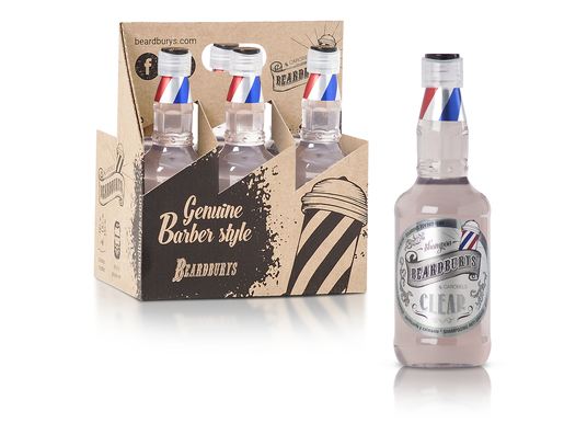 Beardburys Clear Champú-330ml