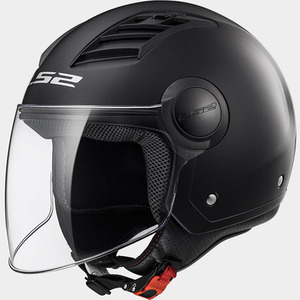 CASCO LS2 OF562 AIRFLOW SOLID NEGRO MATE