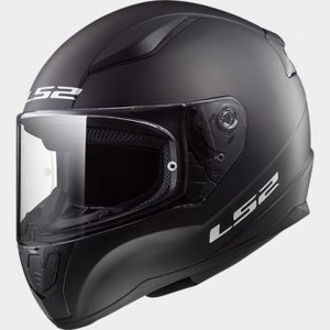 CASCO LS2 FF353 RAPID SINGLE MONO NEGRO MATE