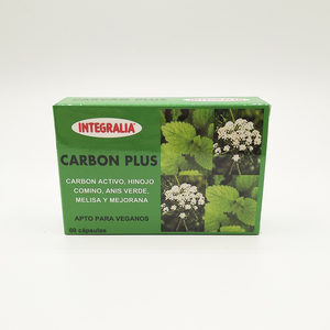 CARBÓN PLUS Integralia 60 cápsulas