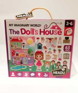 Juego educativo (puzzle) THE DOLLS HOUSE