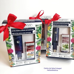 Marnys - Combo USB Ultra nebulizador + Synergy Collection