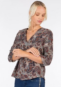BLUSA CAREY TIFFOSI ESTAMPADA