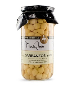 Garbanzos al natural María Jesús