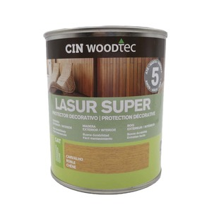 Lasur Super Base Agua Color Roble