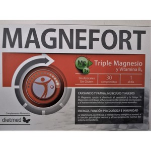 Magnefort (Triple Magnesio) 30 comprimidos. Dietmed