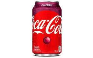 Coca cola cereza lata 355ml