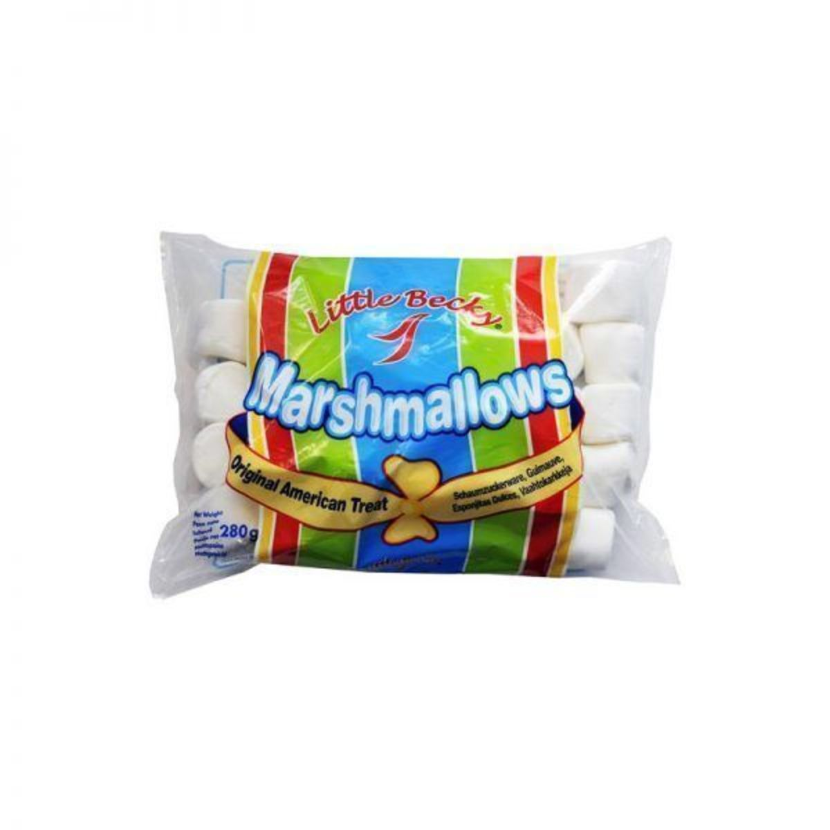 Marshmallows Little Becky 250g tamaño regular