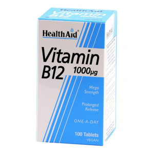 VITAMINA B12 1000 mg  100 comp. HEALTH AID