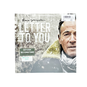 "Vinilo Edición Limitada ""Letter to you"" - Bruce Springsteen"