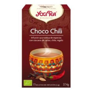 YOGI TEA CHOCOLATE y CHILI 17 infusiones