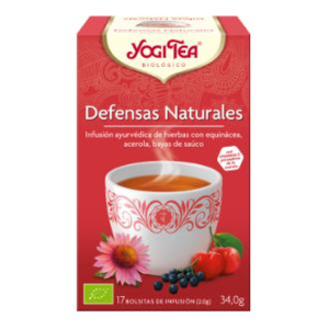 YOGI TEA DEFENSAS NATURALES 17 infusiones