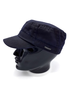 Gorra militar Cotton-Mix marca STETSON color Azul Marino.