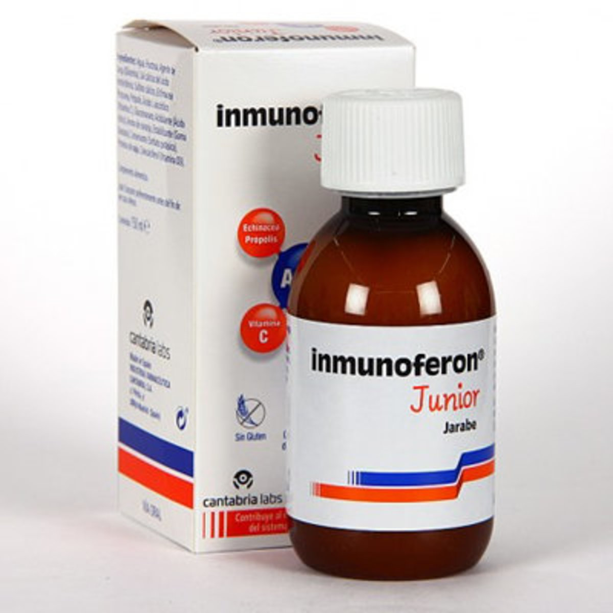 Jarabe para aumentar las defensas INMUNOFERON JUNIOR JARABE 150 ML